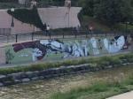 Graffiti art in Denver, CO.